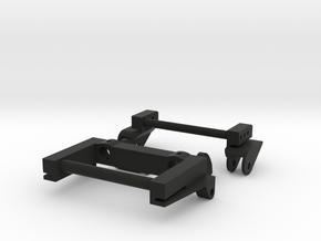SCX10 LWB Rear Leaf Spring Combo V2 in Black Natural Versatile Plastic
