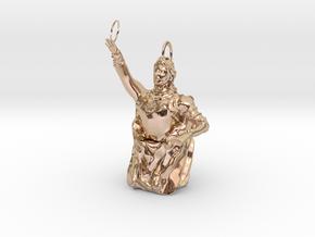 R〇ad of the ring and Deutzia crenata in 14k Rose Gold