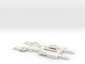 RevOne32 kurz Carrera Universal 132 in White Natural Versatile Plastic