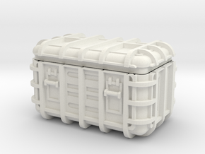 Star Wars Imperial Crate 1 (2 Parts) in White Strong & Flexible
