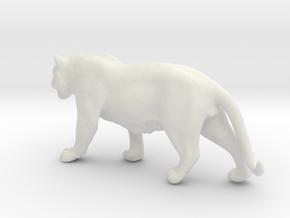 Tiger 1/72 in White Natural Versatile Plastic