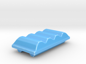 TREASURE CHEST TOP - WAVES - ATMOS in Gloss Blue Porcelain