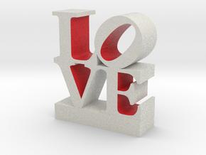 Love-RedWhite033018-shell 0.5 in Full Color Sandstone