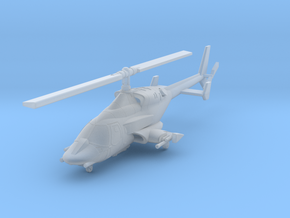 030H Modified Bell 222 Weapons Deployed 1/270 in Smooth Fine Detail Plastic