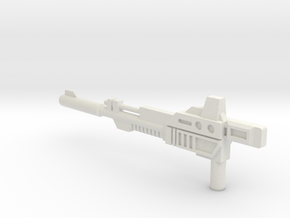 Slaughter Rifle in White Natural Versatile Plastic