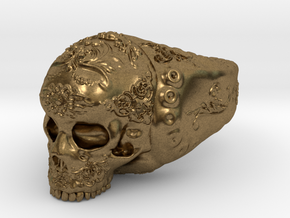 Skull in Natural Bronze: 5 / 49