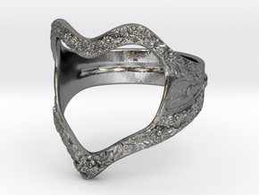 Heart of nature in Polished Silver: 5 / 49