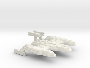 3125 Scale Lyran Cave Lion Battleship (BB) CVN in White Natural Versatile Plastic