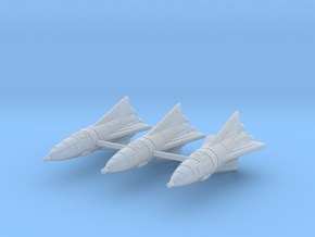 IPF Peregrine Fighter Rocket Wing in Smoothest Fine Detail Plastic