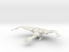 Bird Of Prey Cruiser   Big With Landing Gear in White Natural Versatile Plastic