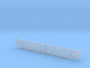 N Scale Doors in Smooth Fine Detail Plastic