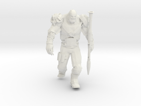 Mutant with RPG launcher in White Natural Versatile Plastic
