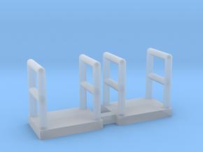 N Scale Walkway 5mm 2pc in Smooth Fine Detail Plastic