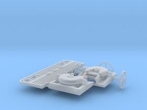 Koppelschotel en stuur in Smooth Fine Detail Plastic
