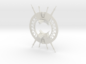 Outer Rim - Trade Port and Space Gate in White Natural Versatile Plastic