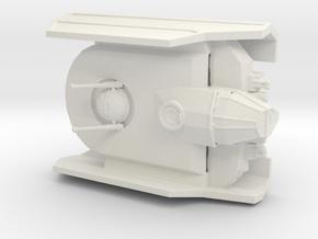 Tie Sentinel in White Natural Versatile Plastic