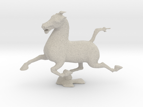 Flying Horse of Kantsu in Natural Sandstone: Small