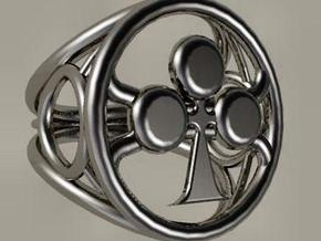 Size 22 5 mm LFC Clubs in Polished Silver