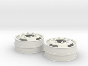 Wedico velgen ovaal gat in White Natural Versatile Plastic