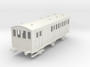 o-43-secr-6w-pushpull-coach-brake-3rd-1 in White Natural Versatile Plastic