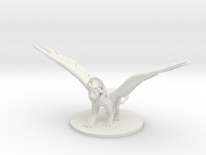 Gynosphinx in White Natural Versatile Plastic