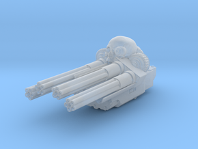 Salvager Ramparts Chaincannon Turret in Smooth Fine Detail Plastic