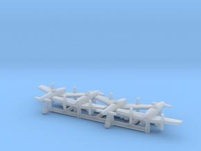 (1:700) (x4) Yokosuka MXY-6 in Smooth Fine Detail Plastic