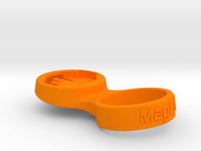 "Wahoo Stem Cap Mount 1-1/8"" - 10deg in Orange Processed Versatile Plastic"