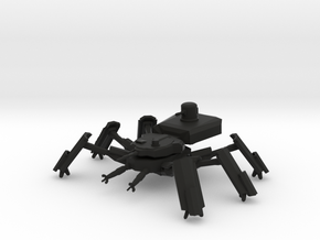 AM-222A Autonomous Combat Walker in Black Natural Versatile Plastic: 6mm