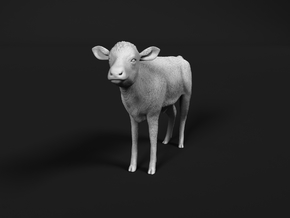ABBI 1:48 Standing Calf in Smooth Fine Detail Plastic