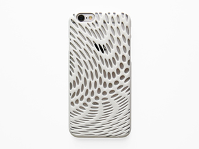 iPhone 6 / 6S Case_Wave in White Processed Versatile Plastic