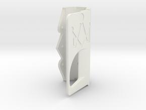 Door - No Token in White Natural Versatile Plastic