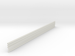 Stanchions - set of 100 - Zscale in White Natural Versatile Plastic