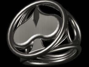 Size 14 5 mm LFC Spades in Polished Silver