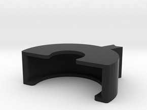 MM510 Lock - Large Nut in Black Natural Versatile Plastic