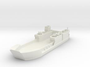 Landing Craft Tank LCT MK  6 1/300 in White Natural Versatile Plastic