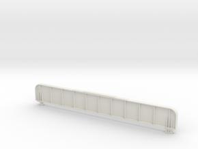 Langträger gespiegelt ohne Steg im Maßstab 1 : 45  in White Natural Versatile Plastic