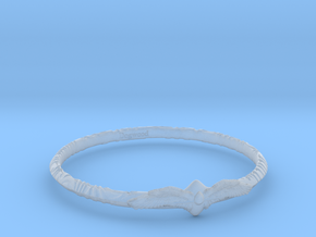 Angelring in Smoothest Fine Detail Plastic
