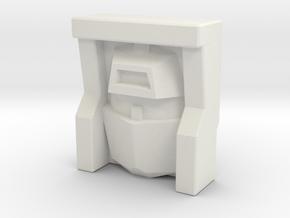 Scrapper, Sunbow (Titans Return) in White Natural Versatile Plastic