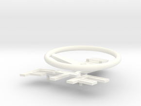 FTF Stuur Schakelpaneel en Embleem in White Processed Versatile Plastic