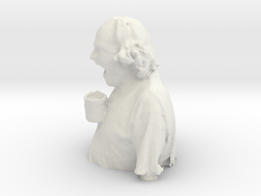 WhoDrankTheCoffee in White Natural Versatile Plastic