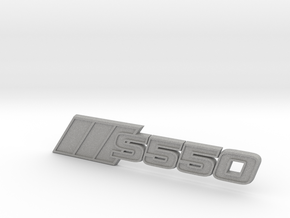 Ford Mustang S550 Tri-Bar Fender Badge in Aluminum