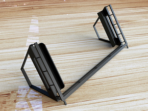 N72013 Tablet Stand LX in Smooth Fine Detail Plastic