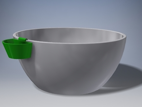 Sauce holder in Green Processed Versatile Plastic