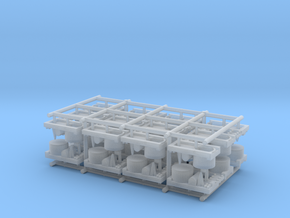 Small Naval Base x24 in Smooth Fine Detail Plastic