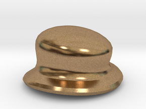 Eggcessories! Small Hat in Natural Brass