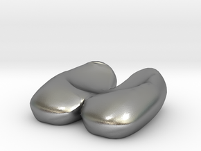Eggcessories! Egg Shoes in Natural Silver