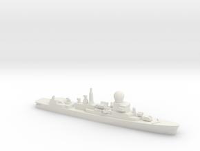 Tromp-class frigate, 1/1800 in White Natural Versatile Plastic