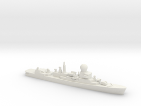 Tromp-class frigate, 1/2400 in White Natural Versatile Plastic