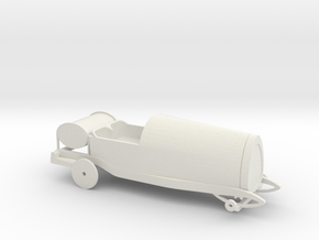 Bugatti type 13 in White Natural Versatile Plastic
